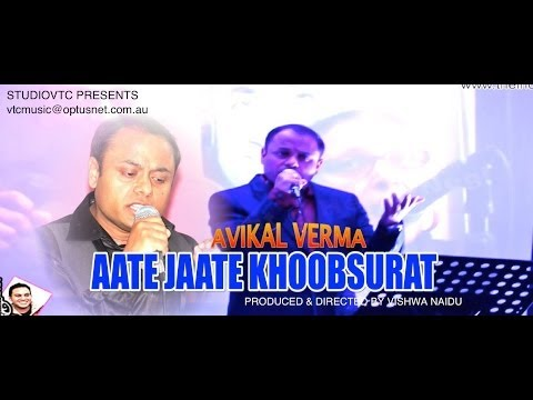 AATE JAATE KHOOBSURAT  AVIKAL  LIVE AT KISHORE NIGHT HD