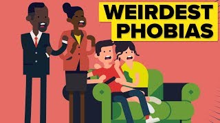 Weirdest Phobias People Suffer From!
