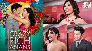 Crazy Rich Asians is taking over the world! The cast talk about their historic film
