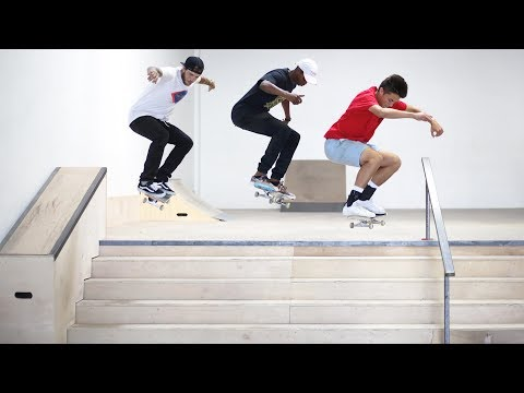 ULTIMATE 5 STAIR CHALLENGE!
