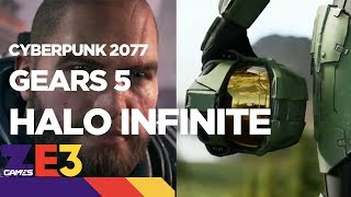 Halo Infinite, Gears 5 and Cyberpunk 2077! - Xbox E3 2018 press conference recap