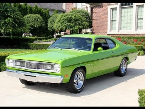 1970 plymouth duster 340 classic muscle car for sale in mi vanguard motor sal. Black Bedroom Furniture Sets. Home Design Ideas