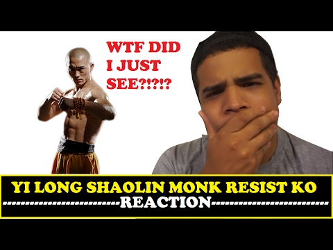 Yi Long, Shaolin Monk who resists K O ! Boxing ! MMA REACTION