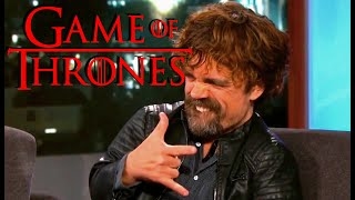 Best of Tyrion Lannister Interviews - Game of Thrones