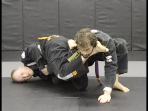 Knee On Belly Counter Attack: Armlock for Brazilian Jiu Jitsu Image 1