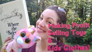 How I make $10,000 a year selling kids clothes and toys at twice a year Consignment Sales!