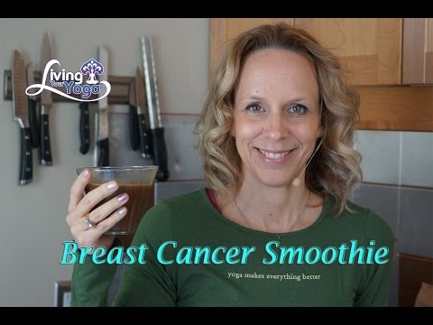 Breast Cancer Smoothie with Herbal Tea Base