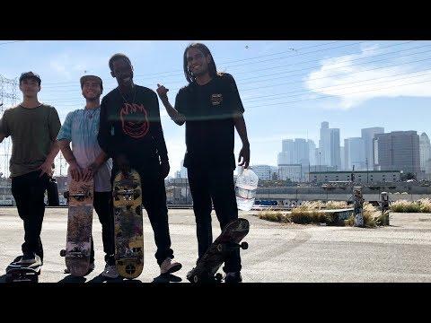 SKATING DTLA WITH NEW SKATERS & HERN !!! - NKA VIDS -