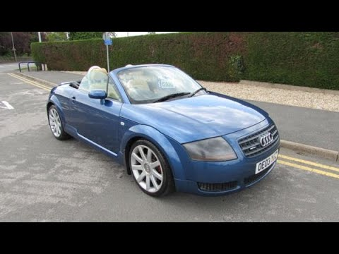 2003 Audi TT Convertible - 32000 miles, collector quality