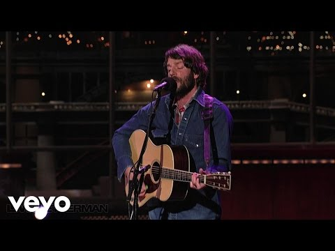 Ray LaMontagne - New York City's Killing Me (Live on Letterman)