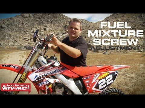 4 Stroke Fuel Mixture Screw Adjustment