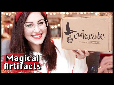 OWLCRATE: MAGICAL ARTIFACTS UNBOXING - January 2019 | Book Roast