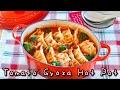Tomato Gyoza Nabe (Hot Pot with Dumplings) Recipe | OCHIKERON | Create Eat Happy :)