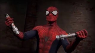 Spider-man VS Darth Maul   official