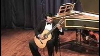 Marin Marais: Sarabande and Gigue, Cem Duruoz, guitar