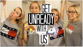GET UNREADY WITH US | Night Routine 2017 ft. Danielle Marie Carolan