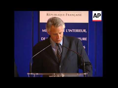 WRAP Presser following French Spanish talks on ETA