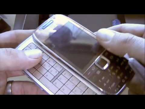 Video: Nokia E75 Unboxing and Hands-On