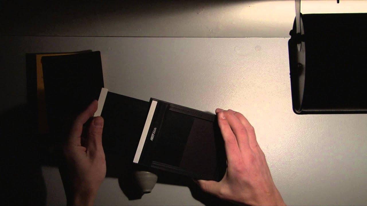 Sheet Film Holder How to Load 4x5 Sheet Film