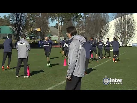 ALLENAMENTO INTER REAL AUDIO 06 02 2014