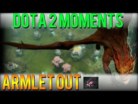 Dota 2 Moments - Armlet Out
