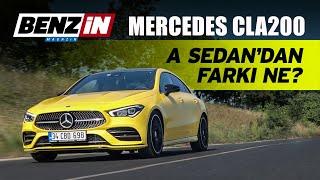 Mercedes-Benz CLA 200 AMG test sürüşü 2019   A Sedan'dan farkı ne?