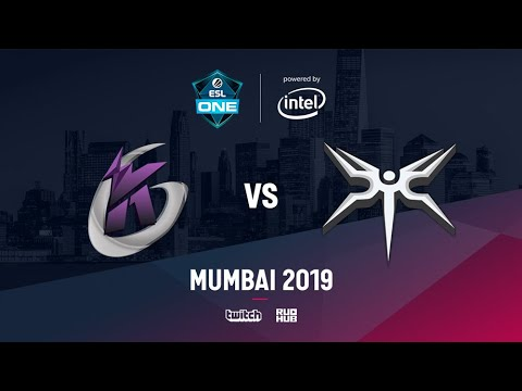 Keen Gaming vs Mineski, ESL One Mumbai 2019, bo5, game 1 [Adekvat & Lost]