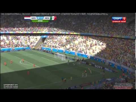 Netherlands 2-1 Mexico Highlights & All Goals, Dos Santos, Sneijder, Huntelaar