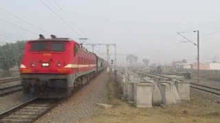 13008 Udyan Abha Toofan Express is in great rush with WAP-4 # 22363 in tow...