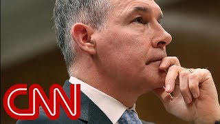 EPA blocks CNN and AP journalists from Pruitt speech