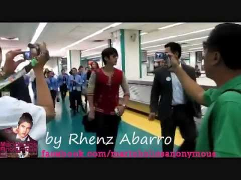 Mario Maurer Arrives in Manila NAIA Airport, Philippines October 26, 2011 (NEVER BEFORE SEEN VIDEO)
