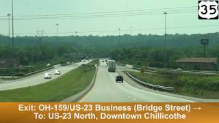 US-35 West: Chillicothe, OH