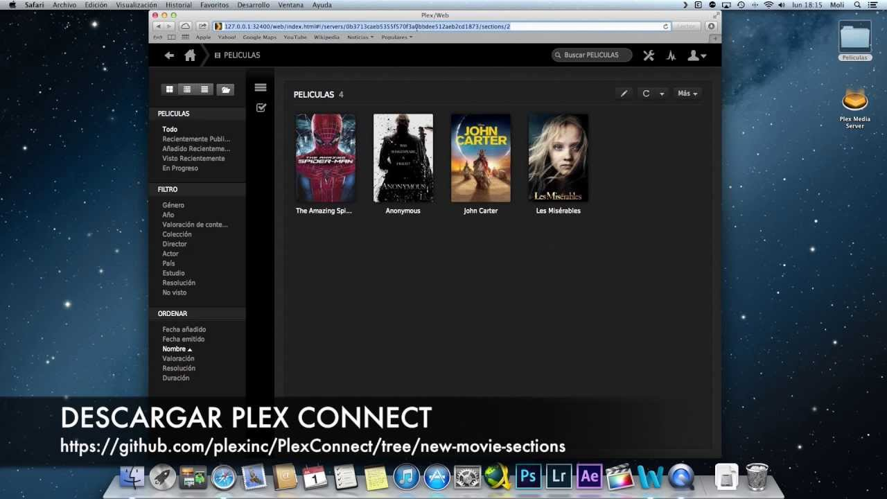Tutorial plex connect en appletv 3 youtube