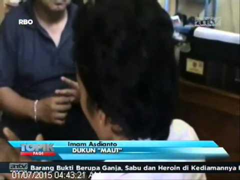 [ANTV] TOPIK, Pemuda Tewas Dibenamkan Ke Air Oleh Sang Dukun