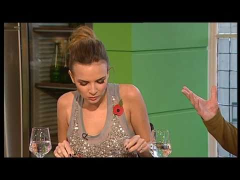 Nadine Coyle - Cooking + Chat - October 2010 (Girls Aloud)