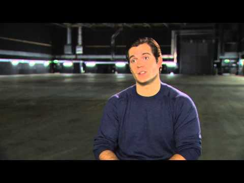 Man of Steel - HD 'Henry Cavill on DC Universe References'