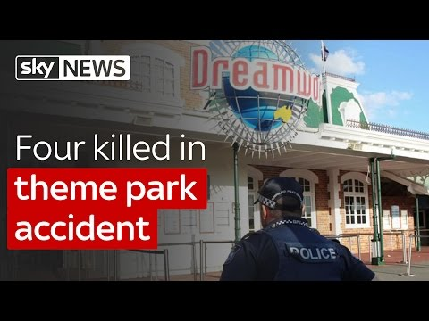 Four killed in theme park accident