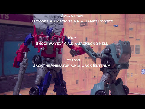 Transformers Age of Extinction Stop Motion : Galvatron vs Optimus Prime Battle