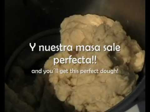 Recetas para Thermomix TM31 - Masa de Pizza ( Dough Recipe )