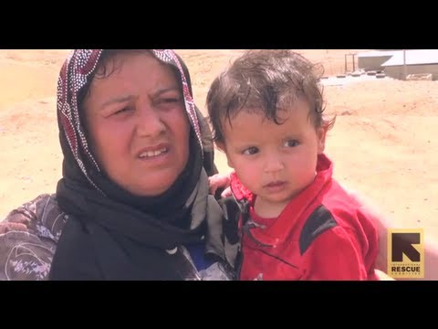 Inside the Syrian crisis: Refugee influx in northern Iraq (September 24, 2013)
