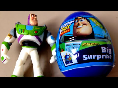 Toy Story Buzz Lightyear Super Surprise Egg Unboxing