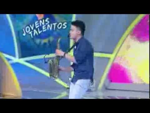 Programa Raul Gil - Caio Mesquita (titanium) - Jovens Talentos - #jt2013 video