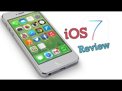 iOS 7 Review - First Look and Demo on iPhone 5