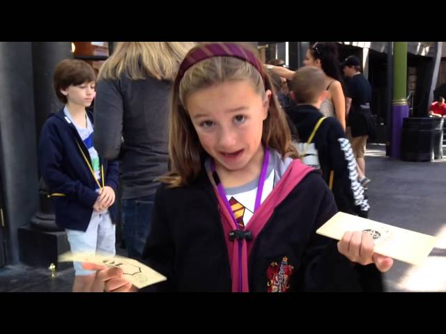 Gringotts Money Exchange #UniversalMoments