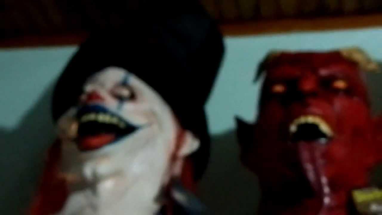 Colecao de mascaras de terror youtube - Mascara de terror ...