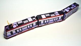 Tram ŠKODA 15T ForCity - Paper Model