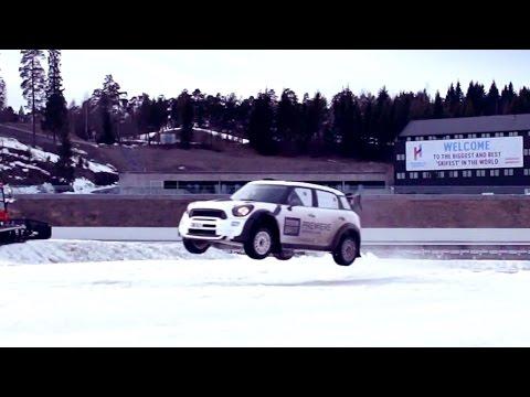 Stig Vs Team Norway: Winter Rally Challenge – BBC Brit launch in Norway - Top Gear