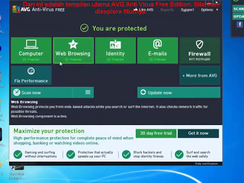 Tutorial Cara Installasi AVG Anti Virus Free Edition 2013