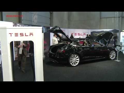 Tesla Vienna Autoshow 2014
