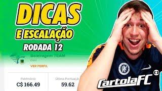 DICAS DO CARTOLA FC 2019 - 12ª RODADA   837 PONTOS NACIONAL